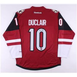 Anthony Duclair Signed Arizona Coyotes Jersey (Duclair COA)