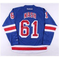 Rick Nash Signed New York Rangers Jersey (Nash COA)