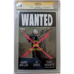 "J.G Jones Signed 2005 ""Wanted"" Issue #6B Image Comic Book (CGC Encapsulated - 7.0)"