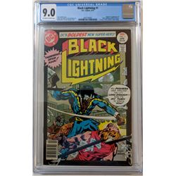"""1977 """"Black Lightning"""" Issue #1 DC Comic Book (CGC 9.0)"""