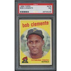1959 Topps #478 Roberto Clemente (PSA 7)