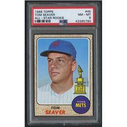 1968 Topps #45 Tom Seaver (PSA 8)