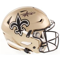Alvin Kamara Signed New Orleans Saints Full-Size Authentic On-Field SpeedFlex Helmet (JSA COA)