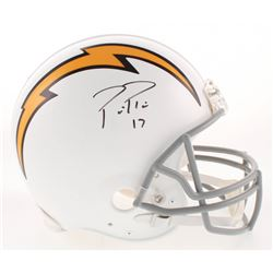 Philip Rivers Signed Los Angeles Chargers Full-Size Helmet (Beckett COA)