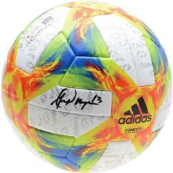 Alex Morgan Signed Adidas Soccer Ball (Fanatics Hologram)