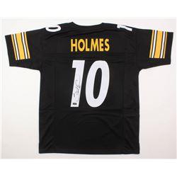 Santonio Holmes Signed Jersey (Radtke COA)