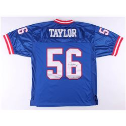 Lawrence Taylor Signed New York Giants Jersey (Beckett COA)