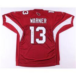 Kurt Warner Signed Arizona Cardinals Jersey (Beckett COA)
