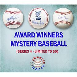 Schwartz Sports MLB Award Winners Signed Baseball Mystery Box - Series 4 (Limited to 75)