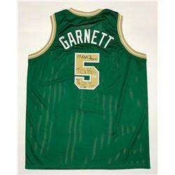 "Kevin Garnett Signed Jersey Inscribed ""08 NBA Champion""  ""The Big Tic"" (PSA COA)"
