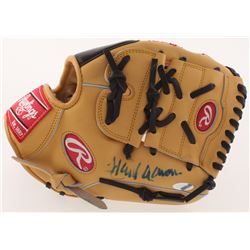 Hank Aaron Signed Rawlings The Gold Glove Co. Baseball Glove (Steiner Hologram)