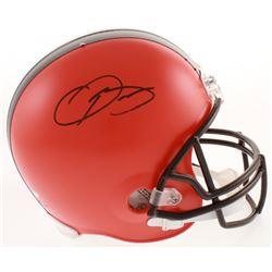 Odell Beckham Jr. Signed Cleveland Browns Full-Size Helmet (Schwartz Hologram)