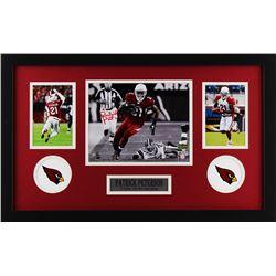 Patrick Peterson Signed Arizona Cardinals 18x27 Custom Framed Photo Display (Radtke COA)