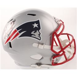 Chase Winovich Signed New England Patriots Full-Size Speed Helmet (Beckett COA)