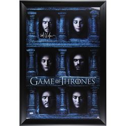 "Kit Harington Signed ""Game of Thrones"" 28x40 Custom Framed Poster Display (Radtke COA)"