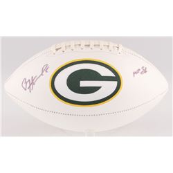 "Paul Hornung Signed Green Bay Packers Logo Football Inscribed ""HOF 86"" (JSA COA)"