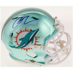 Josh Rosen Signed Miami Dolphins Chrome Speed Mini Helmet (JSA COA)