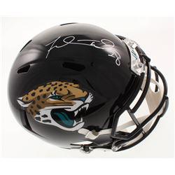 Fred Taylor Signed Jacksonville Jaguars Full-Size Speed Helmet (Beckett COA)
