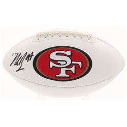 Nick Bosa Signed San Francisco 49ers Logo Football (Beckett COA)