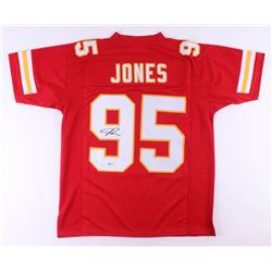 Chris Jones Signed Jersey (Beckett COA)