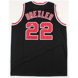 Clyde Drexler Signed Jersey (Beckett COA)