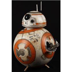 Brian Herring Signed Disney  Star Wars: The Force Awakens  Big-Figs Deluxe 18  Custom Hand-Painted B