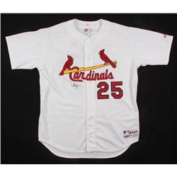 Mark McGwire Signed St. Louis Cardinals Jersey (Beckett COA)
