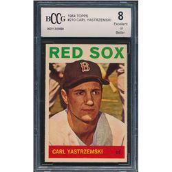 1964 Topps #210 Carl Yastrzemski (BCCG 8)