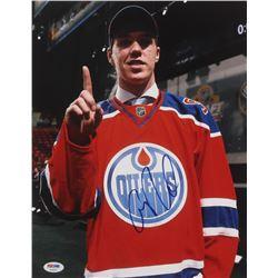 Connor McDavid Signed Edmonton Oilers 11x14 Photo (PSA COA)
