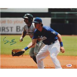 Cody Bellinger Signed Los Angeles Dodgers 11x14 Photo (PSA COA)