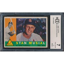 1960 Topps #250 Stan Musial (BCCG 7)