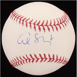 Al Sharpton Signed OML Baseball (JSA COA)