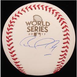 Carlos Correa Signed 2017 World Series Baseball (JSA COA)