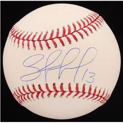 Salvador Perez Signed OML Baseball (JSA COA)