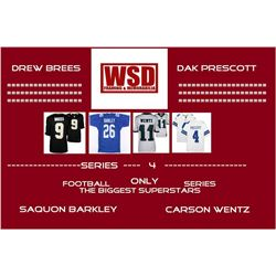 "WSD ""Football Only"" Mystery Jersey Box - Autographed Football Jersey Series #4"