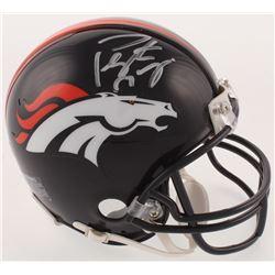 Peyton Manning Signed Denver Broncos Mini-Helmet (Steiner COA  Fanatics Hologram)
