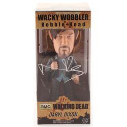 """Norman Reedus Signed """"The Walking Dead"""" Daryl Dixon Funko Wacky Wobbler Bobble Head (Radtke COA)"""