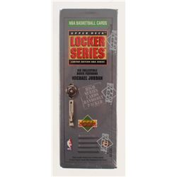 1991 Upper Deck NBA Michael Jordan Locker Series Box with (7) Packs