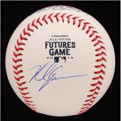Nolan Gorman Signed 2019 All-Star Futures Game Logo OML Baseball (JSA COA)