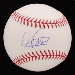 Wander Franco Signed OML Baseball (JSA COA)