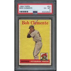 1958 Topps #52 Roberto Clemente (PSA 6)