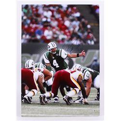 Brett Favre Signed Jets 21x31 Photo (Favre Hologram)