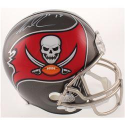 Mike Evans Signed Tampa Bay Buccaneers Full-Size Helmet (Radtke COA)