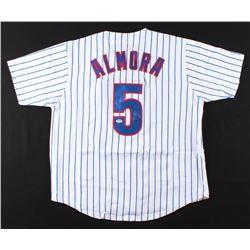 Albert Almora Signed Jersey (PSA COA)