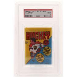 1980-81 O-Pee-Chee Hockey Wax Pack (PSA 9)