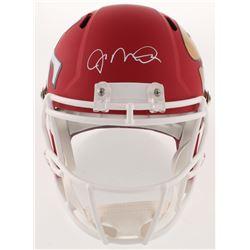 Joe Montana Signed San Fransisco 49ers AMP Full-Size Speed Helmet (Schwartz COA)