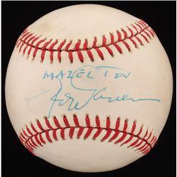 "Rod Carew Signed OAL Baseball Inscribed ""Mazel Tov"" (JSA COA)"