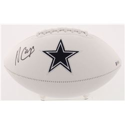 Amari Cooper Signed Dallas Cowboys Logo Football (Beckett COA)