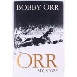 """Bobby Orr Bruins Signed """"My Story"""" Hardcover Book (Orr COA)"""