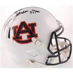 Kerryon Johnson Signed Auburn Tigers Full-Size Speed Helmet (Radtke COA)